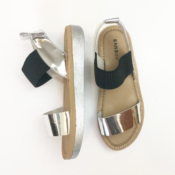 191ea042ac41c BUY2 GET1 Bamboo  Upraise  Slip On Elastic Sandals